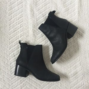 TOMS Black Boots